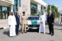 Mobil Sport Baru untuk Polisi Dubai