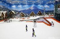 Selain bermain salju, pengunjung juga dapat menikmati berbagai wahana seperti naik kereta gantung, bermain ski dan seluncur salju, dan masih banyak lagi (Grandyos Zafna/detikcom)