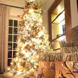 Potret 7 Pohon Natal Unik dan Cantik di Rumah Artis Hollywood