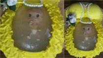 Pesta Baby Shower dengan Hiasan Kue Bayi Belum Lahir Ini Jadi Viral