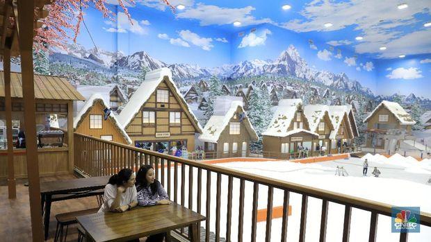 Mau Liburan Natal ala di Jepang, Yuk Main Salju di Bintaro