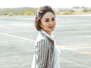 Kegiatan Yuni Shara Saat di Rumah Aja: Berjemur Hingga Memasak