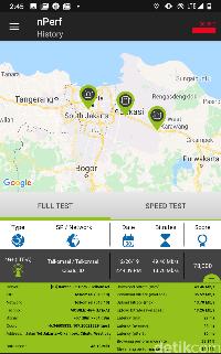 Menjajal Kecepatan Internet di Tol Japek Layang