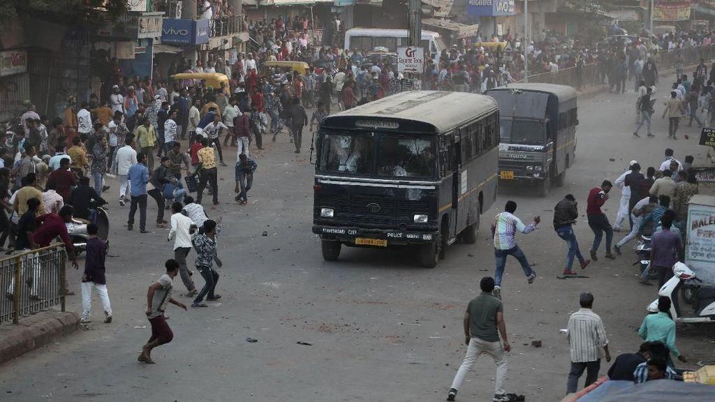 Walau Dilarang, Unjuk Rasa di India Terus Digelar