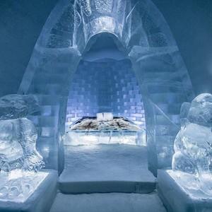 Melihat Hotel Es Unik Bak Istana Elsa Frozen, Hanya Ada Setahun Sekali