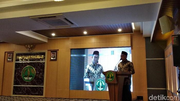 Menko PMK Muhadjir Effendy (Foto: Dony Indra Ramadhan/detikcom)