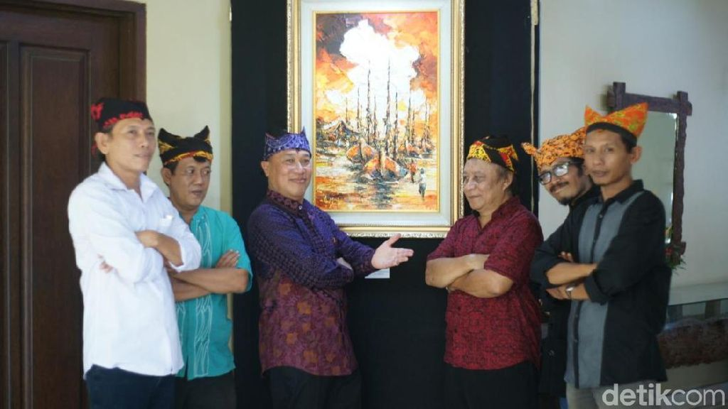 Pameran Lukisan Menembus Mimpi Cara Perupa Seni Bantu Duafa di Banyuwangi