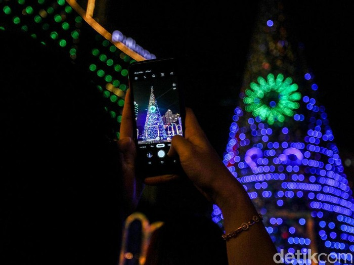 Pohon Natal di Mal Jakarta 2019. Foto: Rifkianto Nugroho