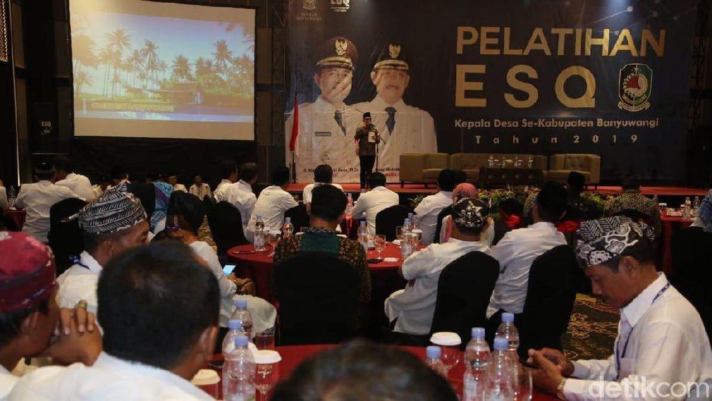 Ratusan Kades di Banyuwangi Ikuti Pelatihan ESQ