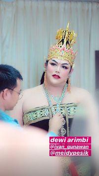 Cantiknya Ivan Gunawan Pentas Wayang Jadi Putri Raja, Bikin Pangling