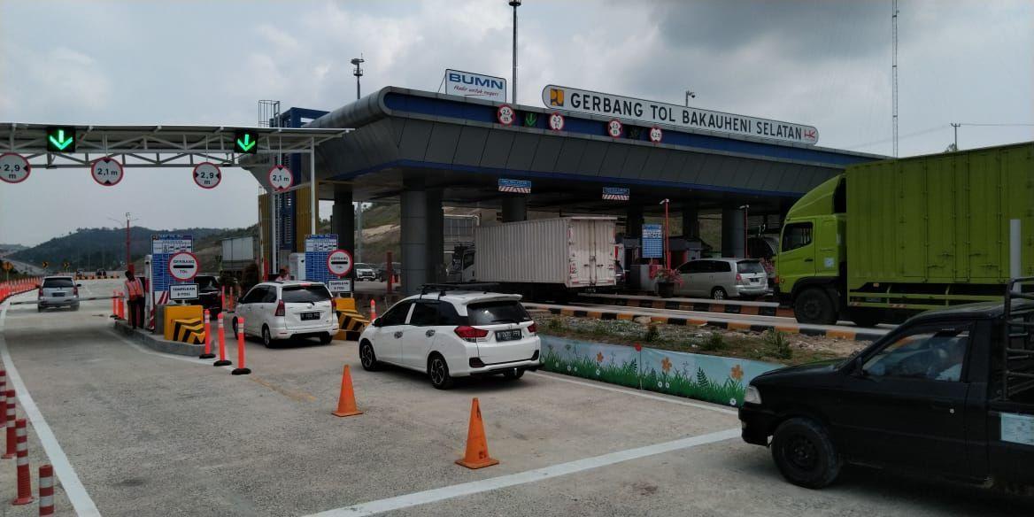 Hutama Karya Siaga Sambut Arus Mudik NATARU Di Trans Sumatra. (Dok : HK)