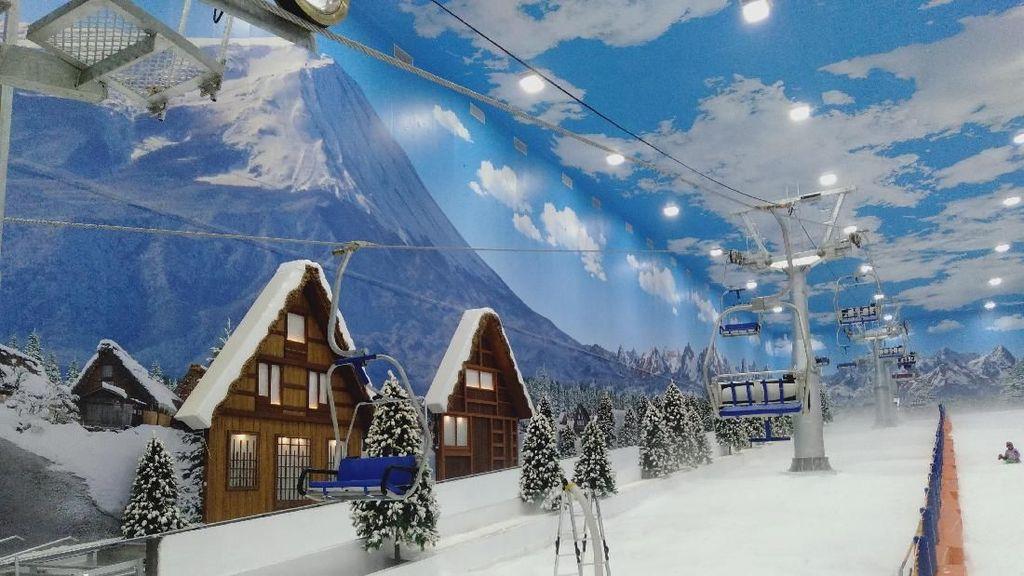 Baru Dibuka, Trans Snow World Bintaro Kasih Harga Spesial