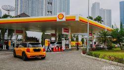 SPBU Shell Buka Lagi dan Bagi-bagi Bensin Gratis