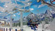 Libur Akhir Tahun di Trans Snow World Bintaro, Ini Aneka Wahana Saljunya
