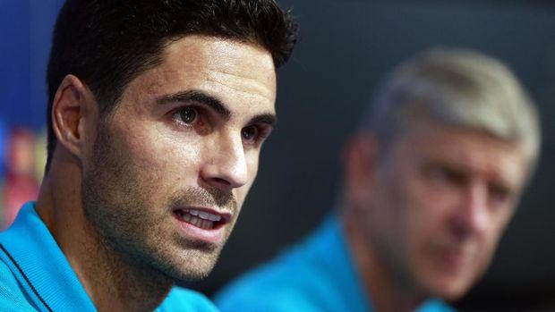 Mikel Arteta menghadapi jadwal berat di pekan-pekan awal jadi manajer Arsenal.