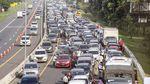 Potret Kemacetan di Jalur Puncak Bogor
