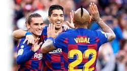 Vidal: Hai Bayern! Barcelona Itu Tim Terbaik di Dunia