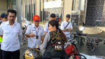 Sasar Pemilik Moge, BPRD DKI Gelar Razia Pajak di Depan Senayan City