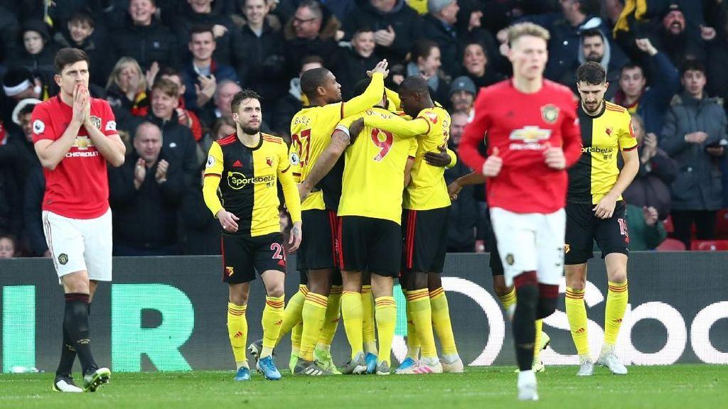 Watford Vs Man United: Setan Merah Dipermalukan 0-2