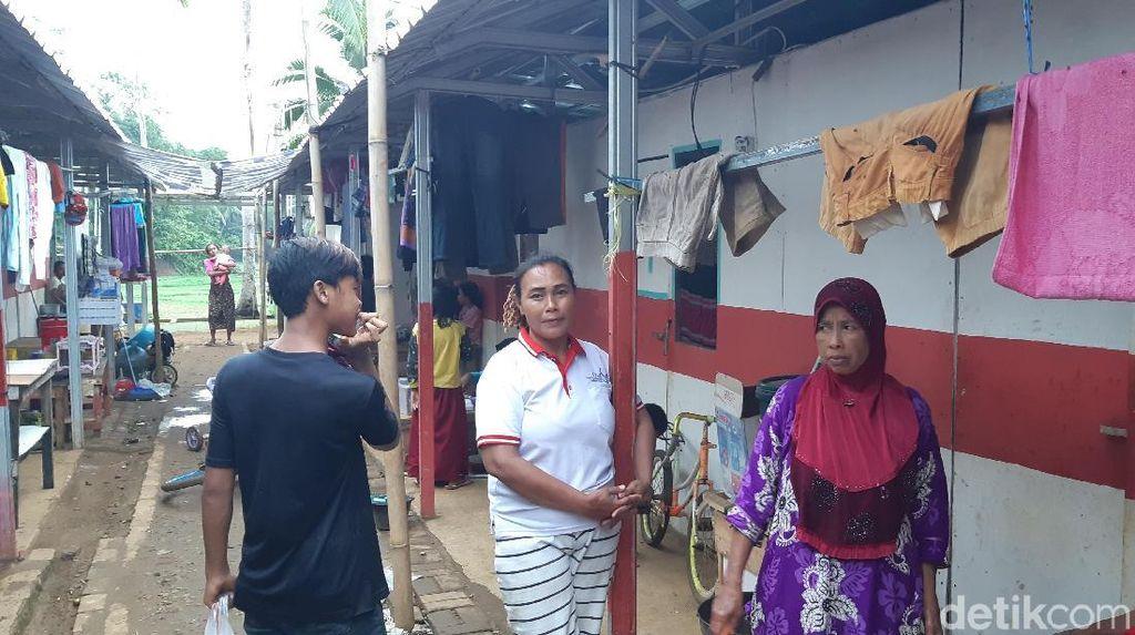 1 Tahun Tsunami Selat Sunda, Warga Huntara Minta Pemerintah Bangunkan Rumah