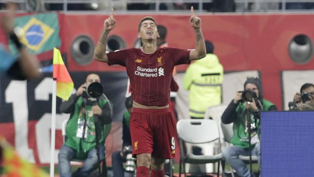 Suasana Ruang Ganti Liverpool Usai Juara Piala Dunia Antarklu