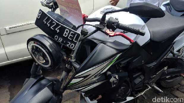Razia Pajak Moge, Pemilik Harley Ini Nunggak Sejak Oktober 2019