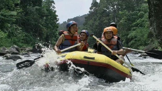 Libur Akhir Tahun, Pekalongan Punya Wisata Rafting Seru