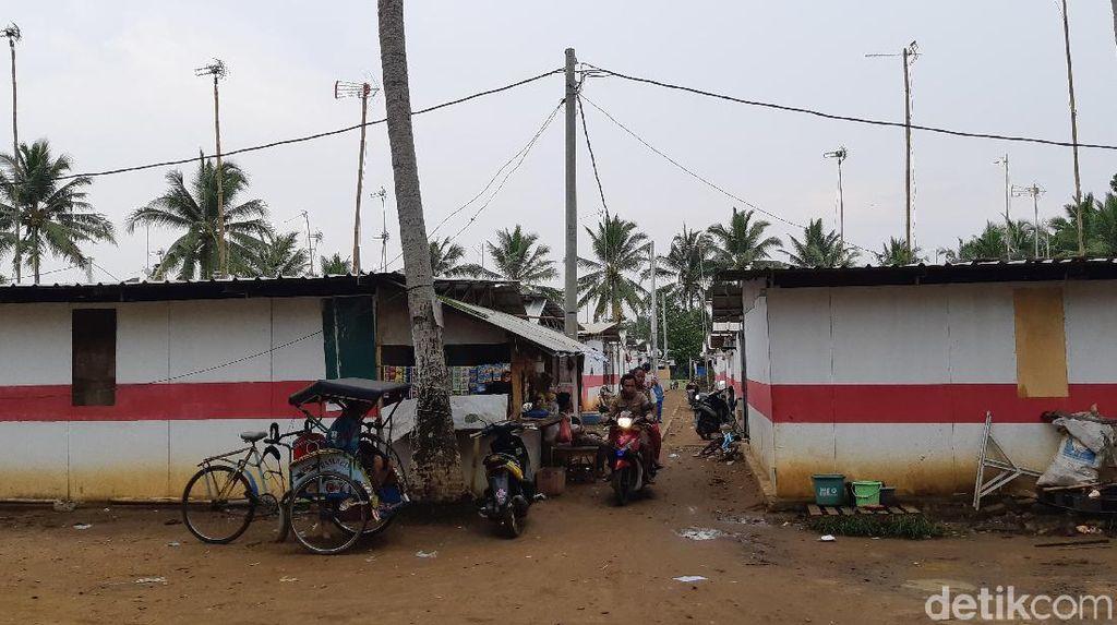 1 Tahun Tsunami Selat Sunda, Warga Huntara Keluhkan Fasilitas dan WC Rusak