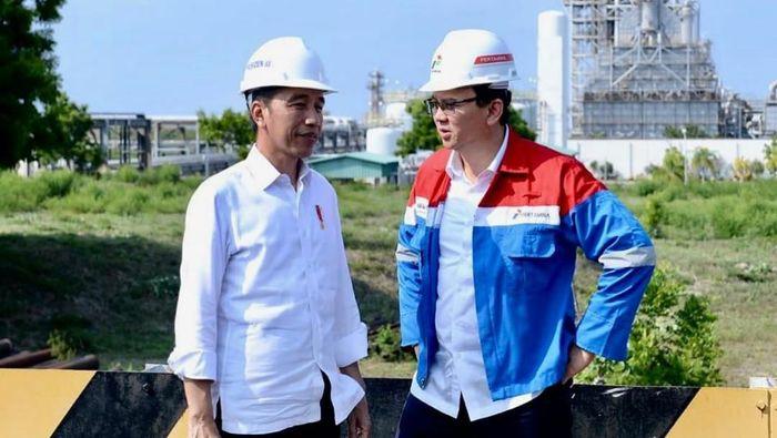 Jokowi dan Ahok di Kilang TPPI