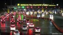 Minggu Malam, Kendaraan di Tol Arah Bandung dan Jakarta Masih Padat