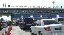 Gerbang Tol Cikatama Pagi Ini Terpantau Padat