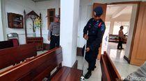 10 Polisi Kawal Tiap Gereja di Sukabumi Saat Natal