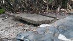 Penampakan Septic Tank Tempat Penemuan Kerangka di Bantul