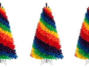 Pohon Natal Pelangi Jadi Tren di 2019
