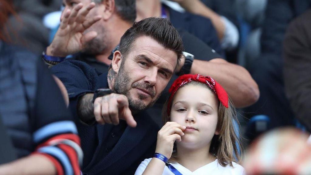 Takut Dirampok, David Beckham Ingin Bangun Terowongan Bawah Tanah