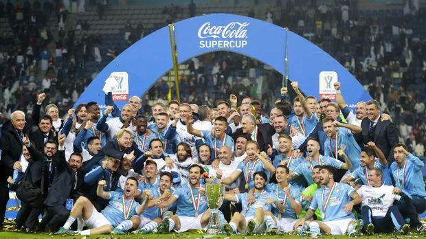 Lazio berhasil mengalahkan Juventus dengan skor 3-1.
