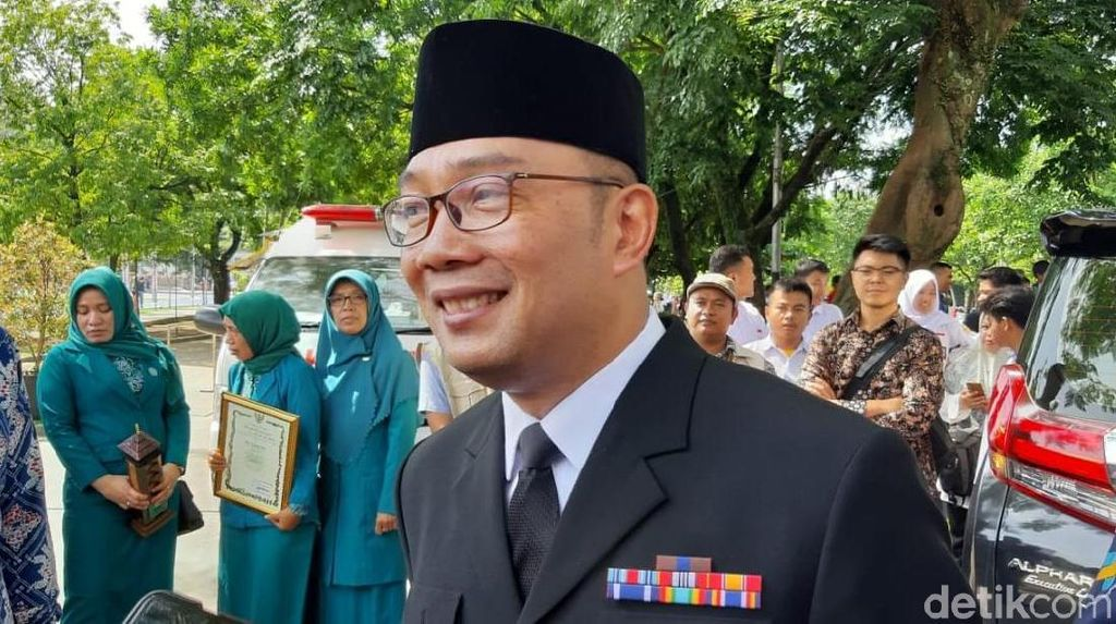Peringati Hari Ibu, Ridwan Kamil Singgung Rektor Baru Unpad dan ITB