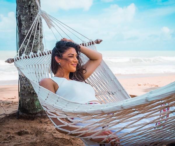 Stephanie saat melakukan pemotretan sekaligus liburan di pulau eksotis Thailand, Koh Lak (Instagram/itsstephrice) (Instagram/itsstephrice)