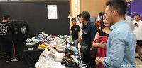 Suasana di USS Downtown Market di Galaxy Mall II, Surabaya.