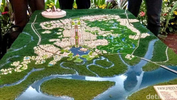 Menteri PUPR Basuki Hadimuljono hari ini menyaksikan pengumuman pemenang desain ibu kota negara baru dalam sayembara. Yuk, lihat desain pemenang sayembara itu.