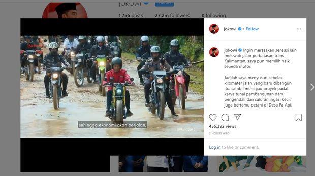 Jokowi di Perbatasan RI-Malaysia