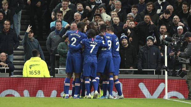 Chelsea punya rekor kandang bagus melawan Tottenham Hotspur.