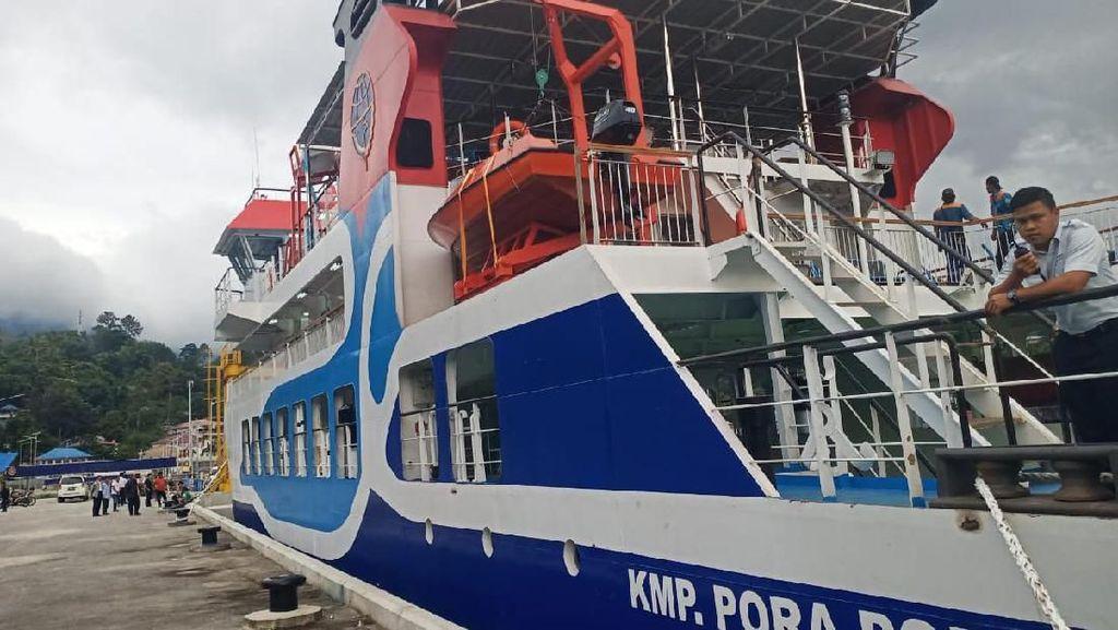 Jelang Nataru, Kapal Pora Pora Mulai Dioperasikan di Danau Toba