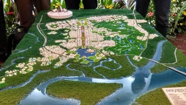 Juara 1 Desain Ibu Kota Baru