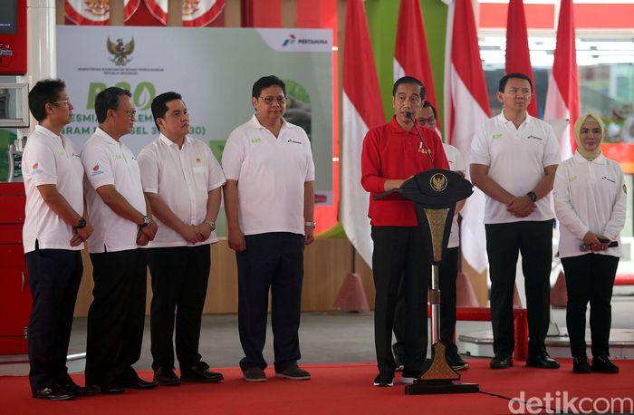 Presiden Joko Widodo (Jokowi) meresmikan rogram mandatori biodiesel (B30) atau meningkat dari sebelumnya B20. Komposisi biodiesel ini merupakan campuran dari 30% minyak nabati dan 70% solar.