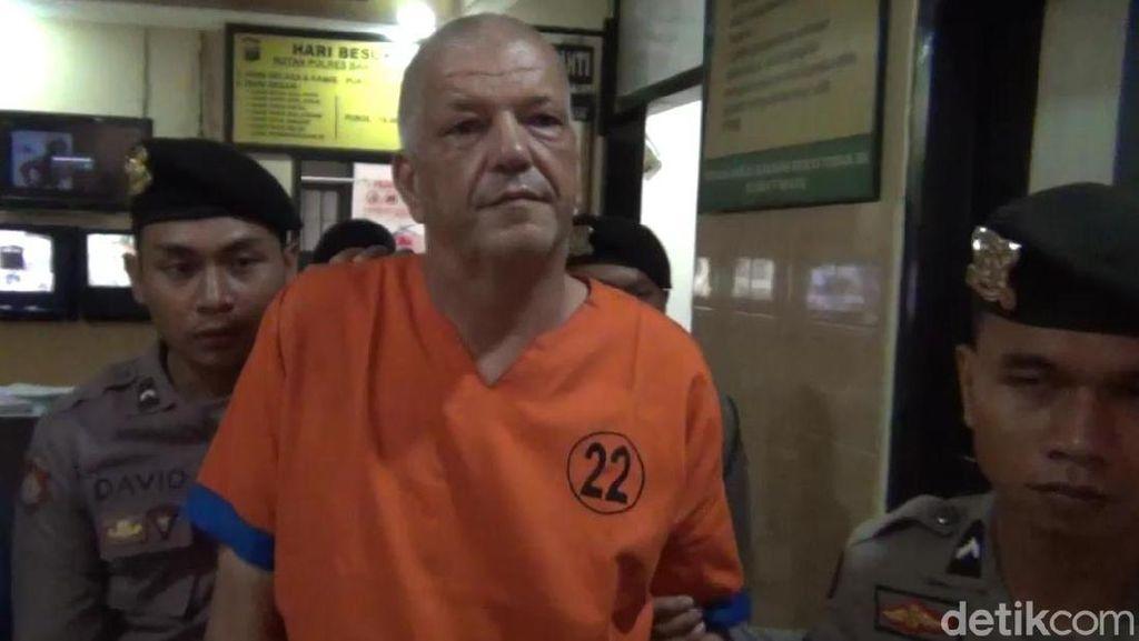 Ini Bule Belanda yang Bunuh Teman Wanitanya Gegara Ngorok