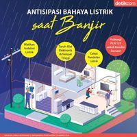 Penanganan listrik saat banjir