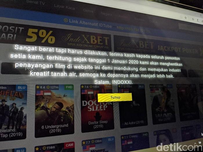 Foto: Adi Fida Rahman/detikINET/IndoXXI Streaming Online Ditutup, Ini Fakta-faktanya
