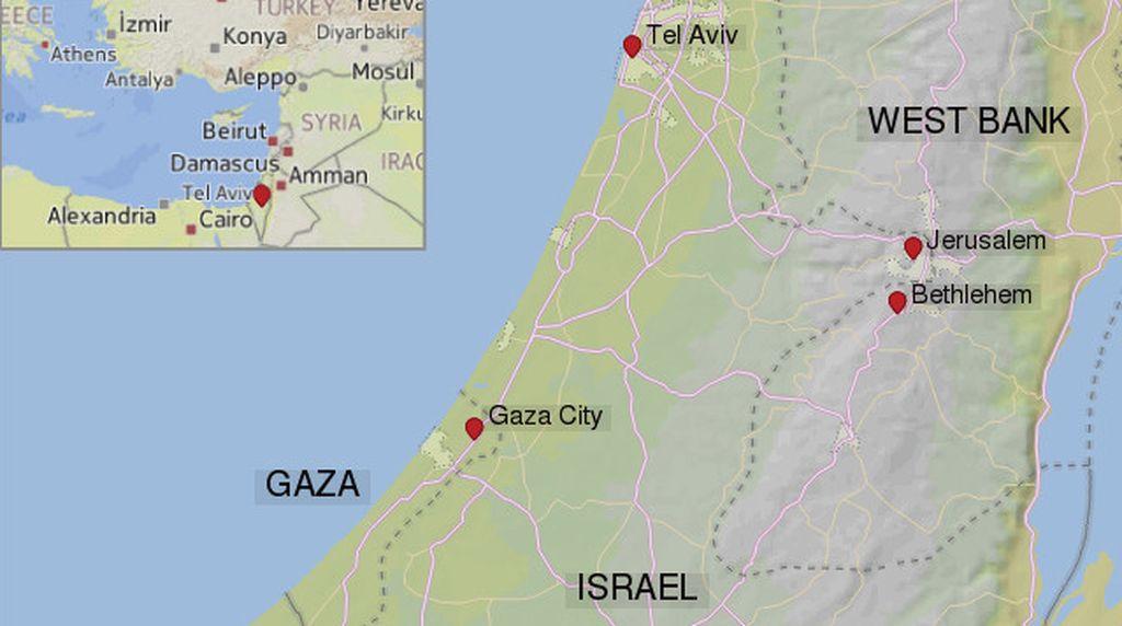 Peta Israel dan Palestina Terkini, Ini Faktanya dari Masa ke Masa