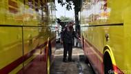 Dishub Cek Kesiapan Bus Angkutan Libur Natal-Tahun Baru